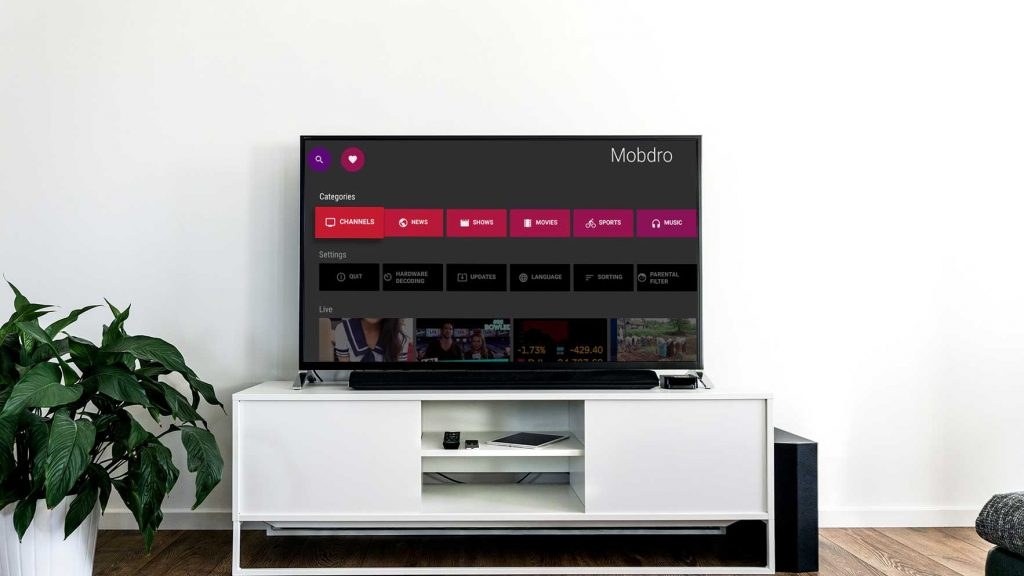 Who to install Mobdro on Smart TV